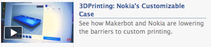3DPrinting: Nokias Custom Case
